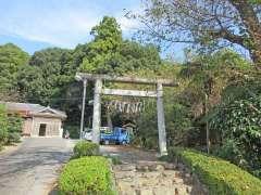 白鬚神社(寺竹)鳥居