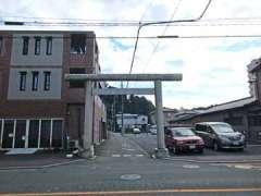 愛宕神社(豊岡)鳥居
