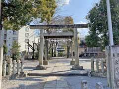 八坂神社(仏子)鳥居