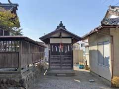 八坂神社(仏子)社殿