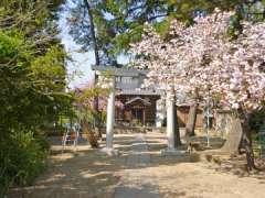 青柳久伊豆神社鳥居