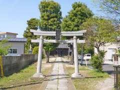篠葉厳島神社鳥居