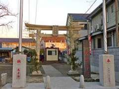 古新田稲荷神社鳥居