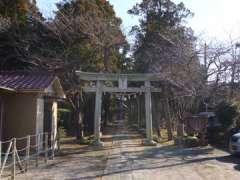 柿木女體神社鳥居