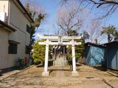 小山氷川神社鳥居