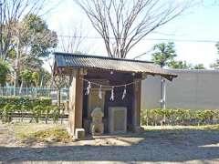 松之木稲荷神社石祠