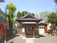 中根女体神社社殿