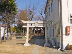 立野氷川神社鳥居