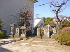 清門稲荷神社石塔群
