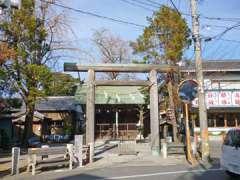 宿篠葉神明神社鳥居