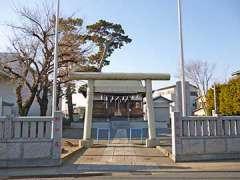 川崎稲荷神社鳥居