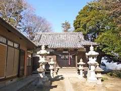 鶴ヶ曽根上久伊豆神社