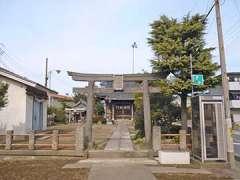 浮塚氷川神社鳥居