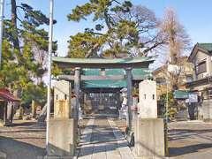 西袋・柳之宮氷川神社鳥居