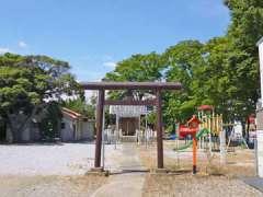 上谷塚神明神社鳥居