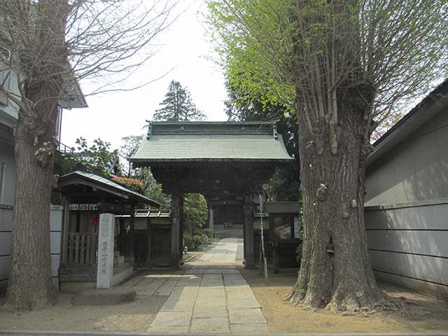 実蔵院山門