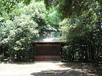 鳩峰八幡神社神楽殿