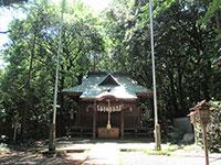 久米水天宮社殿