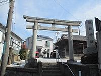 広谷諏訪神社鳥居