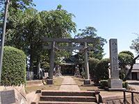 三ヶ島八幡神社鳥居
