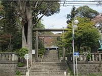 所澤神明社鳥居