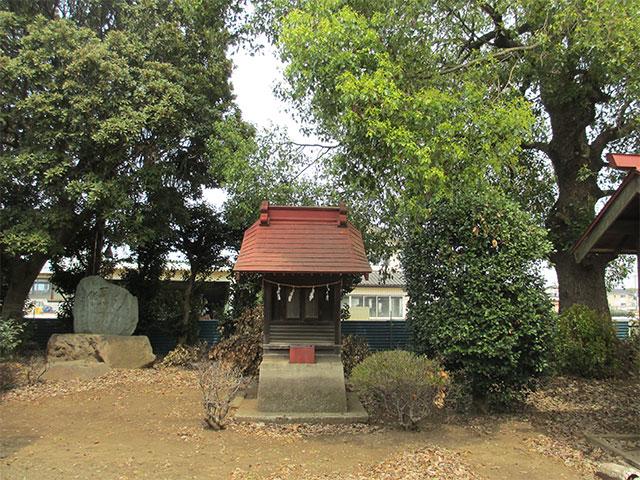 南永井八幡神社。所沢市南永井の神社