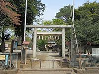 下新井熊野神社鳥居