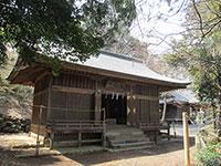 中氷川神社和魂殿