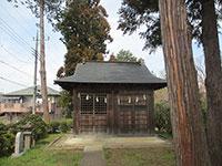 翁樹神社社殿