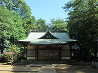 安松神社社殿
