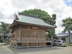 和樂備神社神楽殿