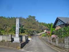 長福寺参道