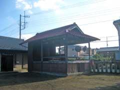 用土諏訪神社神楽殿