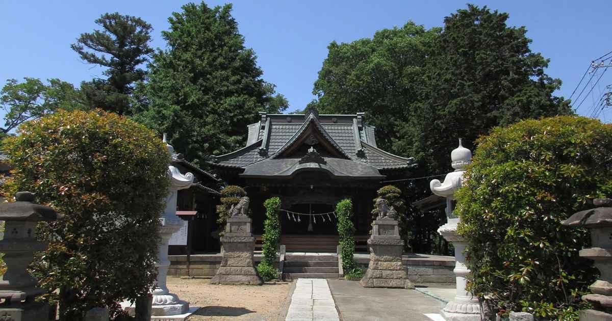 泣沢女神を祀る元巣神社