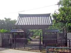 医王寺山門