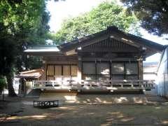 赤堤六所神社神楽殿
