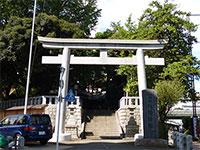 代田八幡神社鳥居