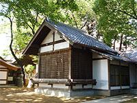 代田八幡神社神楽殿