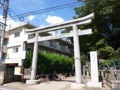 北澤八幡神社鳥居