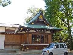 北澤八幡神社神楽殿