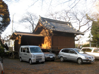 東玉川神社神楽殿