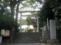 深沢神社鳥居