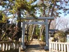 船橋神明神社鳥居