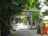 池尻稲荷神社鳥居