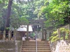 上野毛稲荷神社鳥居