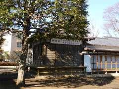 上祖師谷神明社神楽殿