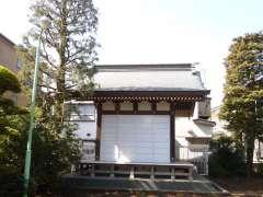 砧三峯神社神楽殿