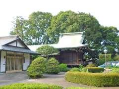 喜多見氷川神社神楽殿