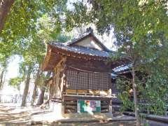 経堂天祖神社神楽殿