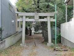 松羽稲荷神社鳥居